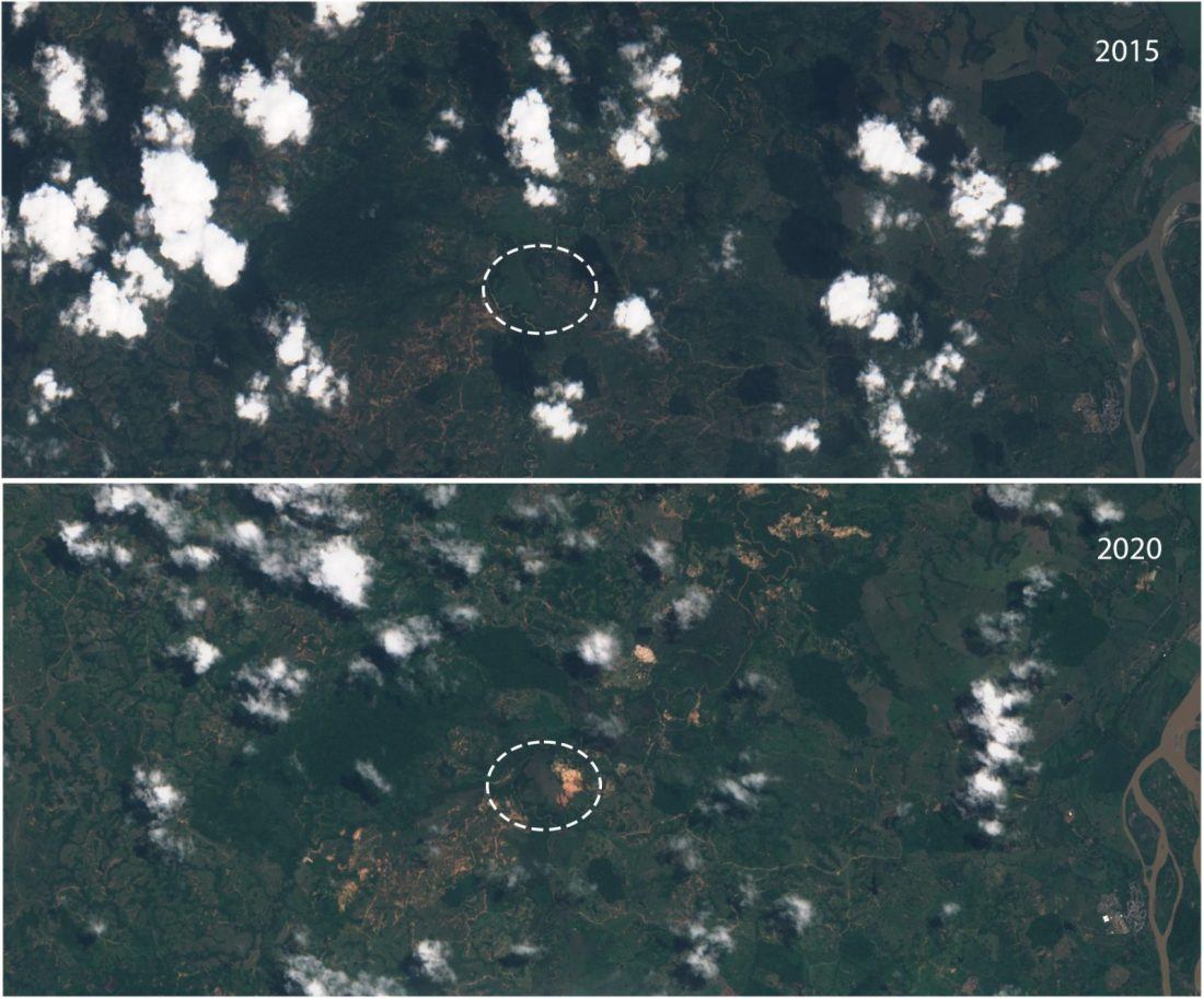 Sentinel 2 L1C image on 2020 11 14