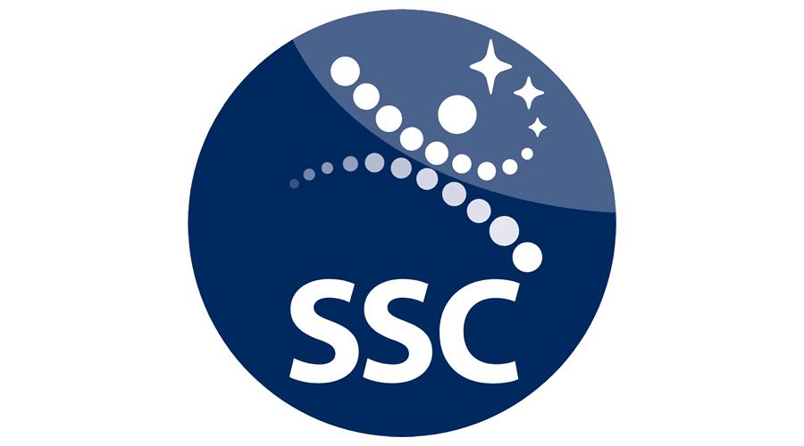 ssc swedish space corporation vector logo